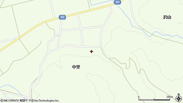 山形県酒田市中野俣中里30周辺の地図