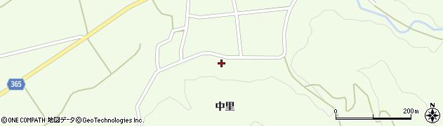 山形県酒田市中野俣中里25周辺の地図