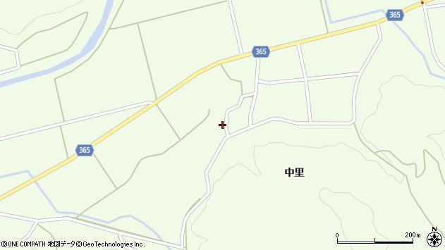 山形県酒田市中野俣中里94周辺の地図