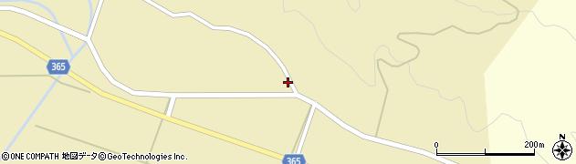 山形県酒田市山谷中川原19周辺の地図