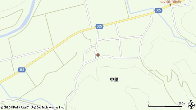 山形県酒田市中野俣中里70周辺の地図