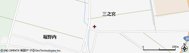 山形県酒田市三之宮48周辺の地図