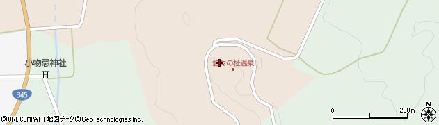 山形県酒田市山楯南山32周辺の地図