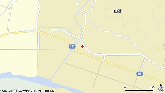 山形県酒田市山谷中川原40周辺の地図