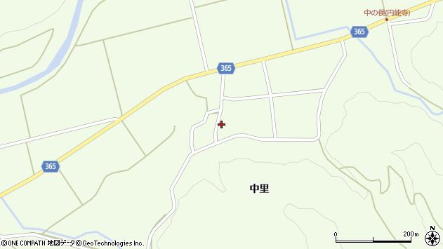 山形県酒田市中野俣中里71周辺の地図
