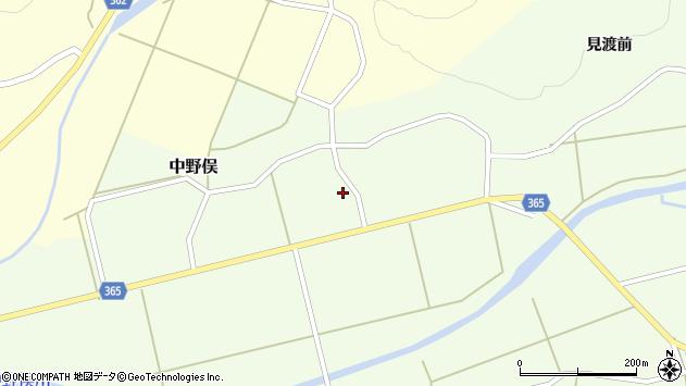 山形県酒田市中野俣備畑前周辺の地図