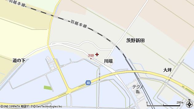 山形県酒田市茨野新田19周辺の地図
