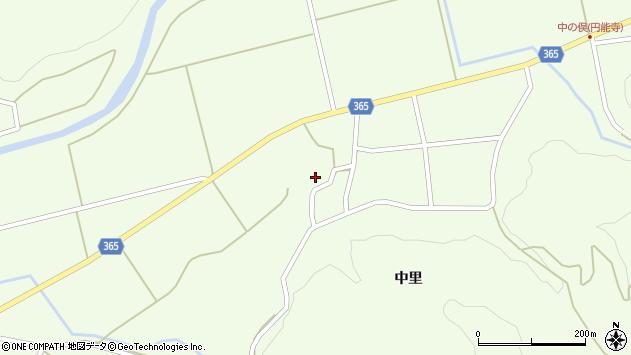 山形県酒田市中野俣中里82周辺の地図