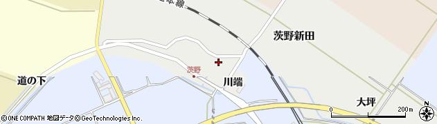山形県酒田市茨野新田20周辺の地図