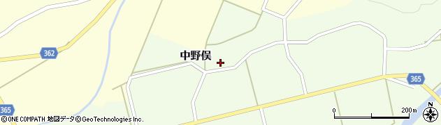 山形県酒田市中野俣備畑前142周辺の地図