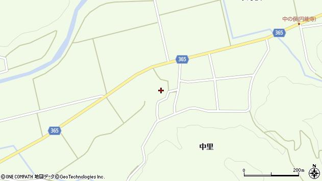 山形県酒田市中野俣中里81周辺の地図