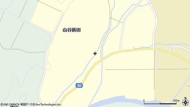 山形県酒田市山谷新田山海260周辺の地図