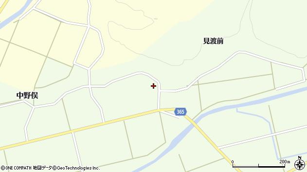山形県酒田市中野俣備畑前73周辺の地図