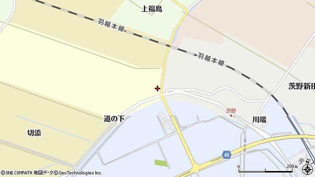 山形県酒田市小牧新田8周辺の地図