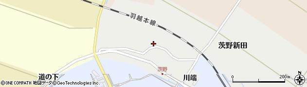 山形県酒田市茨野新田40周辺の地図