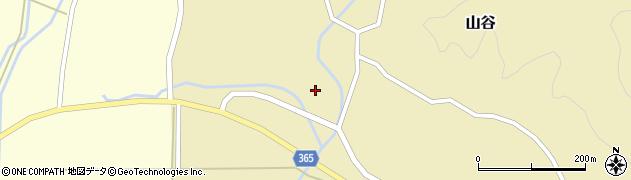 山形県酒田市山谷三ケ沢54周辺の地図