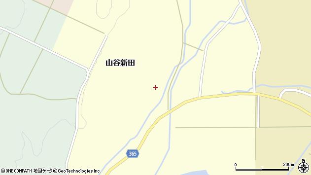 山形県酒田市山谷新田山海267周辺の地図