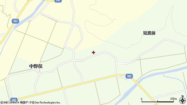 山形県酒田市中野俣備畑前87周辺の地図