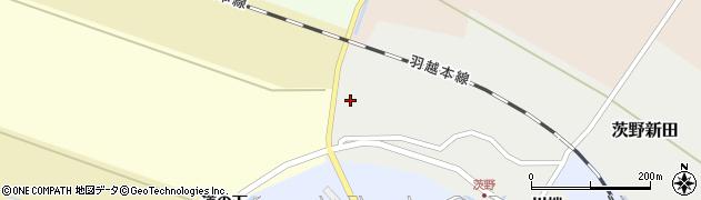 山形県酒田市茨野新田川端50周辺の地図