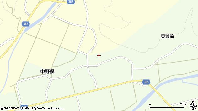 山形県酒田市中野俣備畑前169周辺の地図