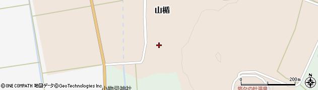 山形県酒田市山楯清水田37周辺の地図