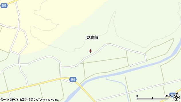 山形県酒田市中野俣見渡前156周辺の地図