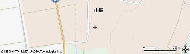 山形県酒田市山楯清水田44周辺の地図