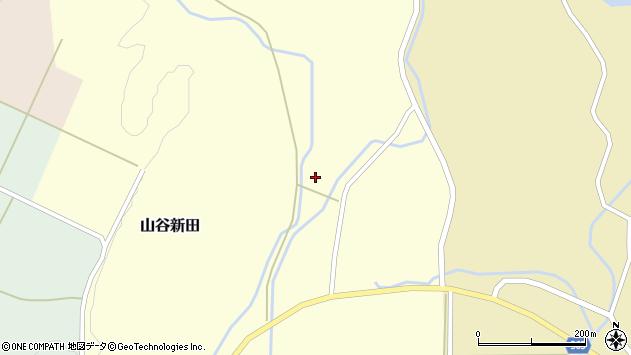 山形県酒田市山谷新田西沢5周辺の地図