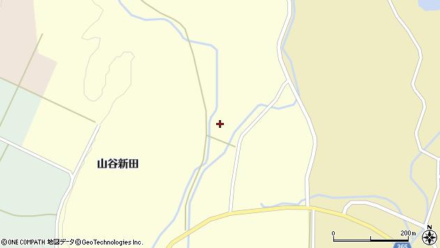 山形県酒田市山谷新田西沢4周辺の地図