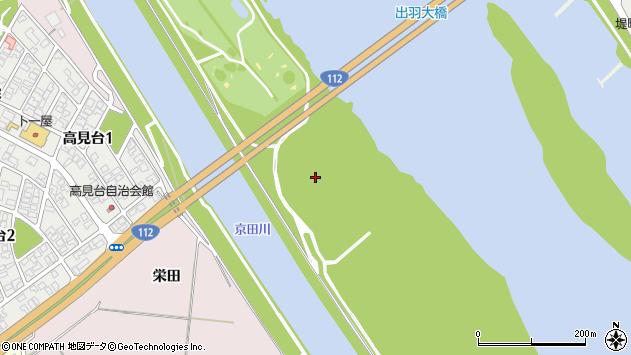 山形県酒田市宮野浦栄田周辺の地図