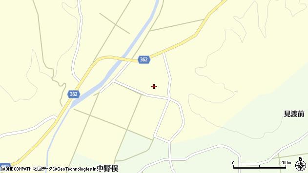 山形県酒田市北俣上中村27周辺の地図