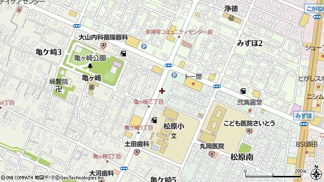 山形県酒田市松原南1周辺の地図