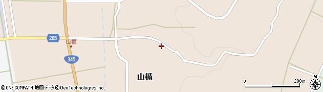 山形県酒田市山楯清水田89周辺の地図