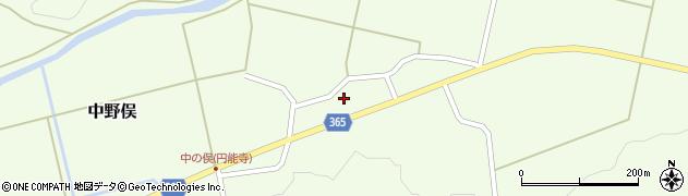 山形県酒田市中野俣岡道26周辺の地図