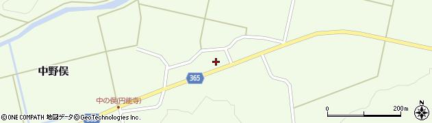 山形県酒田市中野俣村北91周辺の地図