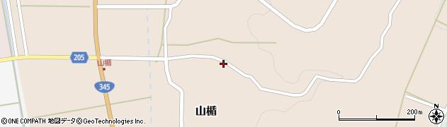 山形県酒田市山楯清水田88周辺の地図