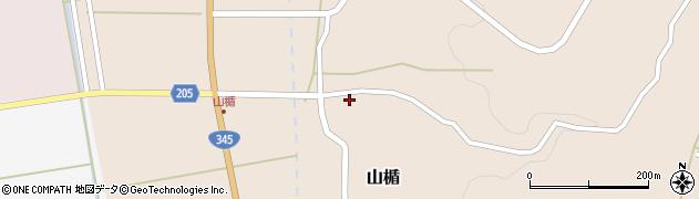 山形県酒田市山楯清水田82周辺の地図