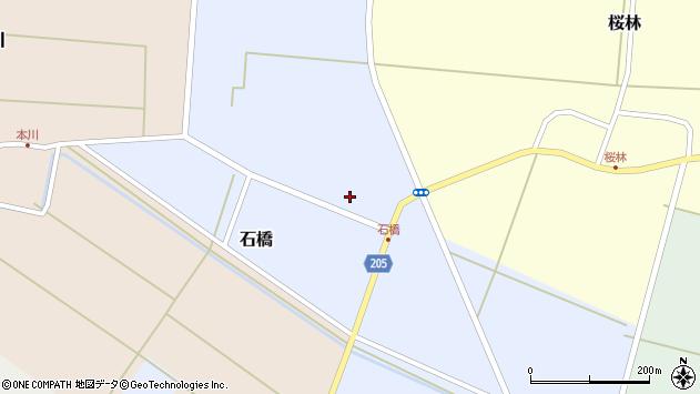 山形県酒田市石橋7周辺の地図