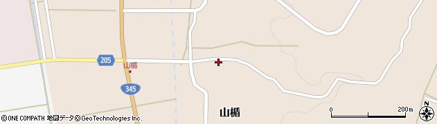 山形県酒田市山楯清水田83周辺の地図