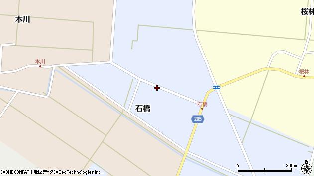 山形県酒田市石橋15周辺の地図