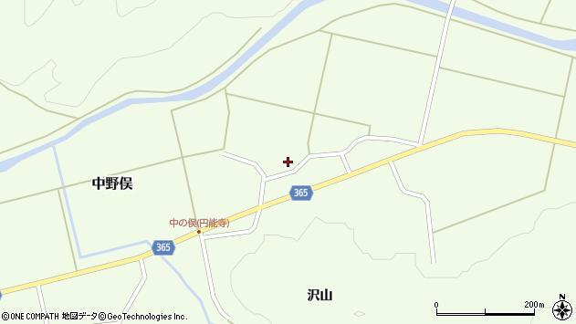 山形県酒田市中野俣村北17周辺の地図