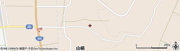 山形県酒田市山楯清水田11周辺の地図