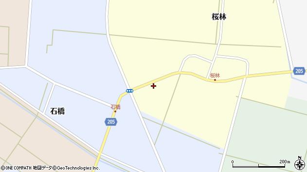 山形県酒田市桜林南田13周辺の地図