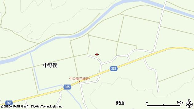 山形県酒田市中野俣村北35周辺の地図