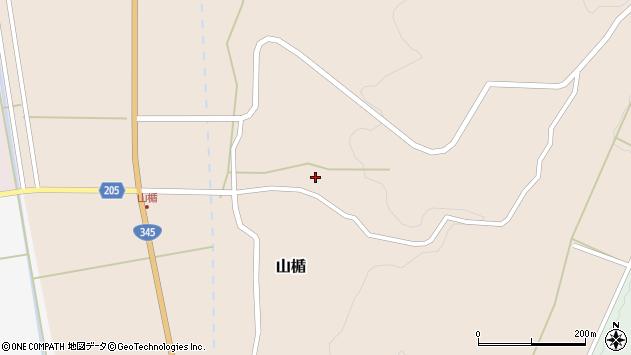 山形県酒田市山楯清水田13周辺の地図