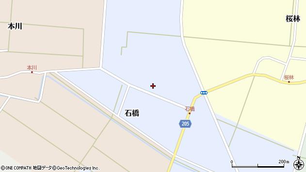 山形県酒田市石橋11周辺の地図