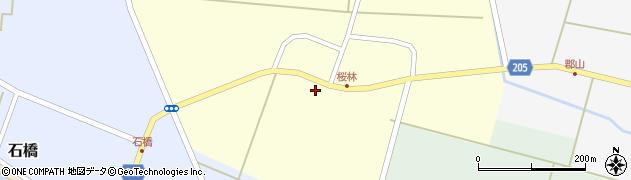 山形県酒田市桜林58周辺の地図