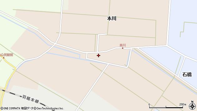 山形県酒田市本川31周辺の地図