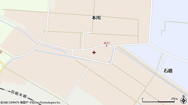 山形県酒田市本川28周辺の地図