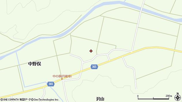 山形県酒田市中野俣村北39周辺の地図